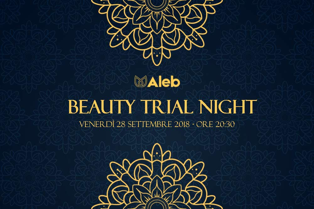 Evento beauty trial night