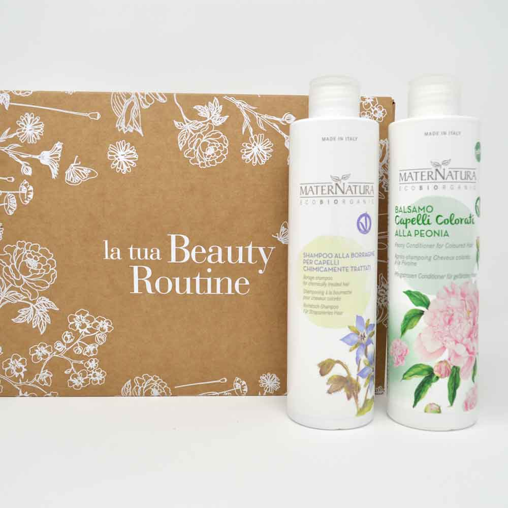 beauty routine capelli colorati maternatura